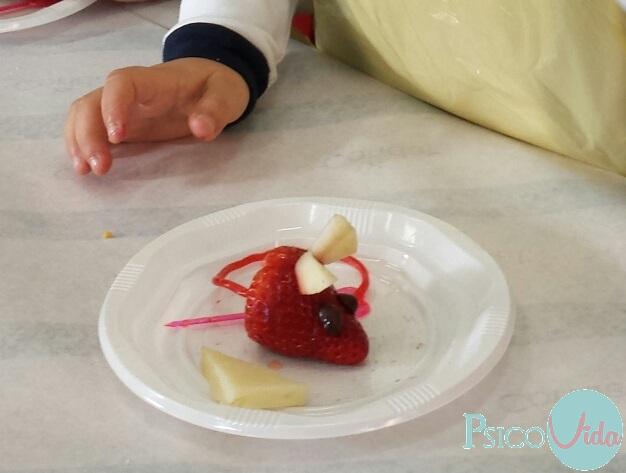 Cocina creativa con los niños. meriendas divertidas.   gabinete de ...