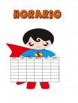 Horario Super - Héroe