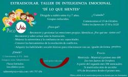 Extraescolar Inteligencia Emocional. 2015 PSICO-VIDA